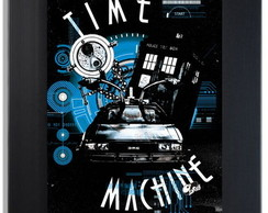 QUADRO POSTER - DR. WHO - TIME MACHINE