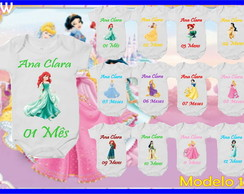 Kit Mesversario Princesas DISNEY