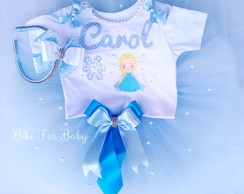 Kit Fantasia Frozen Elsa