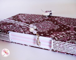 Caderno A5 Artesanal - Longstitch