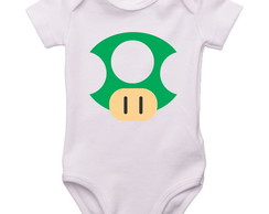 Cogumelo Mario - Body ou Camiseta infant