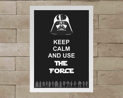 Quadro The force A3
