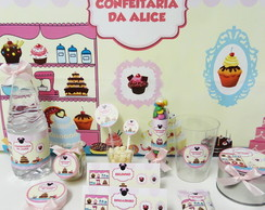Kit Festa Confeitaria Minnie