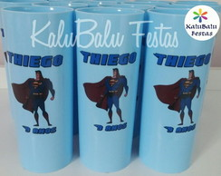 Copos Long drink Superman