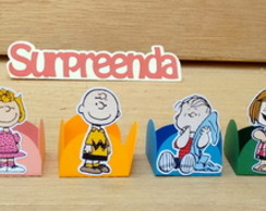 Kit 80 Forminhas Peanuts - Charlie Brown