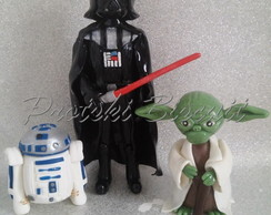 Kit personagens Star Wars