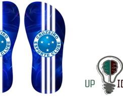 ... chinelo de times Cruzeiro c96a783bff94f