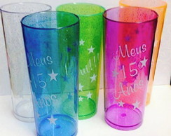 Copos Long Drink Glitters