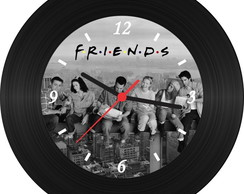 Relógio de Vinil - Friends (New York)