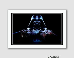 Quadro Star Wars - Darth Vader 60x40cm N7 Decoracao Quarto