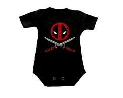 Camiseta INFANTIL OU Body Deadpool