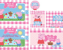 KIT DIGITAL - PICNIC PEPPA PIG