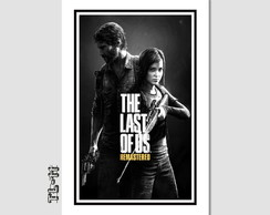 Quadro Games - The Last Of Us 60x40cm Decoracao Quarto