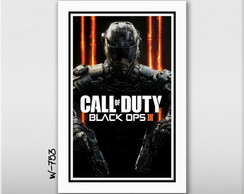 Quadro 60x40cm Call of Duty Black Ops 3