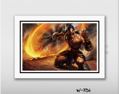 Quadro 60x40cm Games League Of Legends