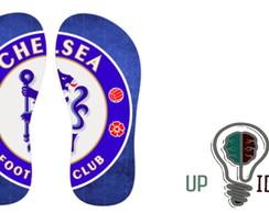 8e10e16c6c ... chinelo de times Chelsea