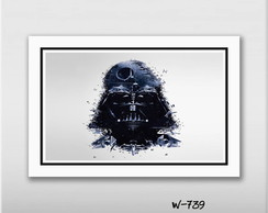 Quadro 45x30cm Star Wars - Darth Vader