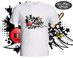 Camiseta de Rock Music