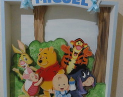 Placa de porta turma do Pooh