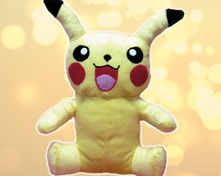 Pikachu de pelucia do pokemon