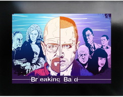 QUADRO POSTER - BREAKING BAD