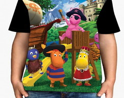 Camiseta Backyardigans - Infantil