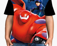 Camiseta Infantil Big Hero - Infantil