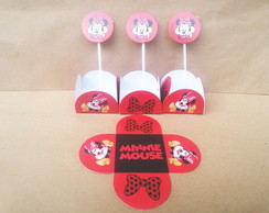 50 FORMINHAS + 10 TOPPER MINNIE 25,99