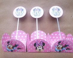 50 Forminhas Minnie + 10 Topper 25,99