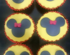 Mini cupcake Minnie e Mickey