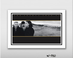 Quadro 60x40cm The Joshua Tree Bono - U2