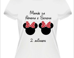Kit Mamãe e Papai Minnie Mickey Gêmeos