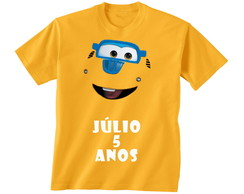 Camiseta Infantil Super Wings Donnie