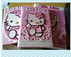 Kit Cadernos Hello Kitty
