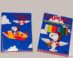 Massinha de Modelar - Snoopy Aviador