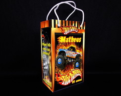 Sacolinha Personalizada Hot Wheels