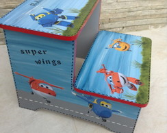 Escadinha Super Wings