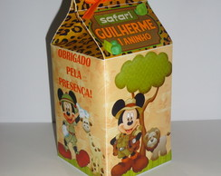 Caixa Milk Mickey Safari 1