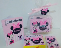 Kit colorir na maletinha minnie