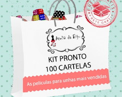 Kit PRONTO com 100 cartelas de películas