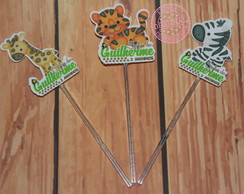 Toppers simples Safari