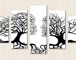 Quadro Decorativo Couple Tree Love