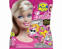 Pirulito Pop Mania Barbie Framboesa