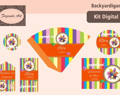 Kit digital p/ personalização Backyardi