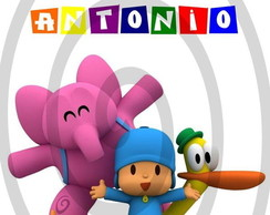 Papel Arroz Pocoyo