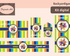 Kit digital p/ personalização Backyardig