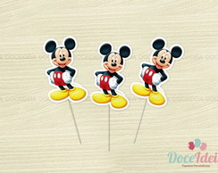 Toppers - Tema Mickey