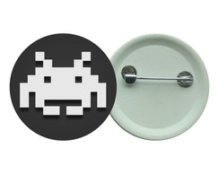 Botton 3,5 -Space Invaders - Boton Games