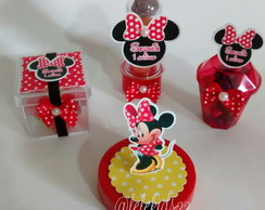 mimos Minnie Mouse vermelha