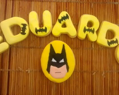 biscoitos decorados Batman